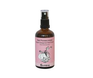 Био флорална розова вода със спрей Армина Био
