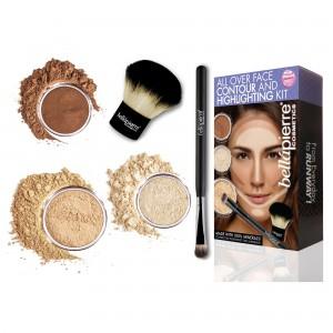 Контуриращ комплект за лице Medium Bellapierre Cosmetics