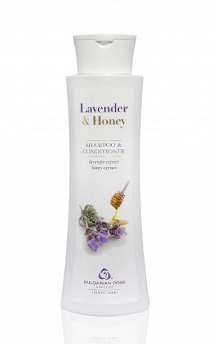 Шампоан & кондиционер Lavender and Honey Българска роза Карлово