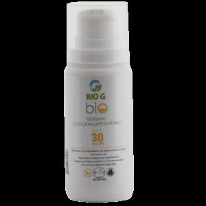 Био слънцезащитен крем за деца и бебета с SPF 30 Bio G