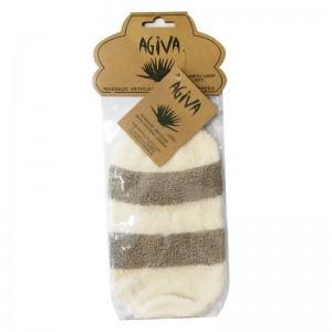 Ръкавица за баня от бамбук и лен Agiva