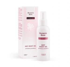 Омекотяващо сухо масло за тяло Diamond Rose Biofresh