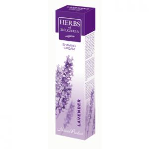 Крем за бръснене с екстракт от лавандула Herbs of Bulgaria Biofresh