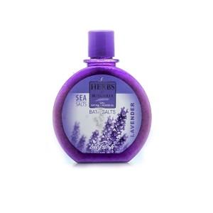 Соли за вана с екстракт от лавандула Herbs of Bulgaria Biofresh