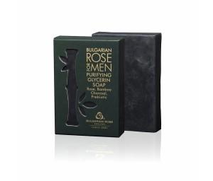Почистващ глицеринов сапун за мъже Bulgarian Rose for Men