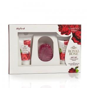 Дамски мини комплект с декоративен сапун Royal Rose Biofresh