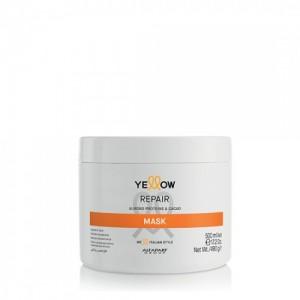 Възстановяваща маска за коса с бадемови протеини и какао Repair Yellow