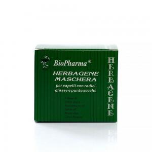 Маска за коса против мазни корени и сухи краища Herbagene Biopharma