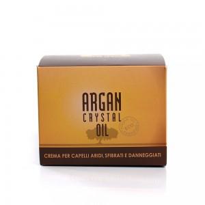 Маска за суха, третирана и силно изтощена коса Argan Crystal Oil Biopharma