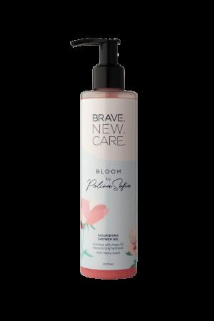 Омекотяващ и подхранващ душ гел Bloom by Polina Sofia