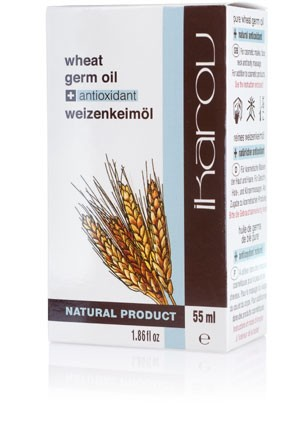 Натурално масло от пшеничен зародиш Ikarov