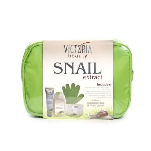 Подаръчен комплект с екстракт от градински охлюв Victoria Beauty