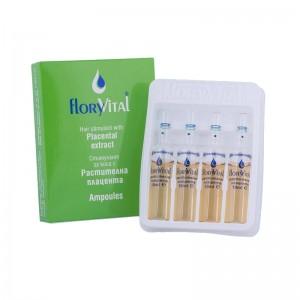 Стимулант за коса с растителна плацента FloryVital
