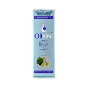 Натурално масло от кукуи с витамин Е OliVital