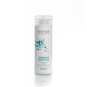 Шампоан за чувствителен скалп склонен към омазняване Sebomax Sensitive Biotrade