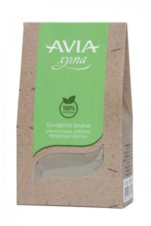 Натурална българска зелена хума на прах Avia